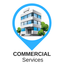 Commercial services offered by restoration pro 24.